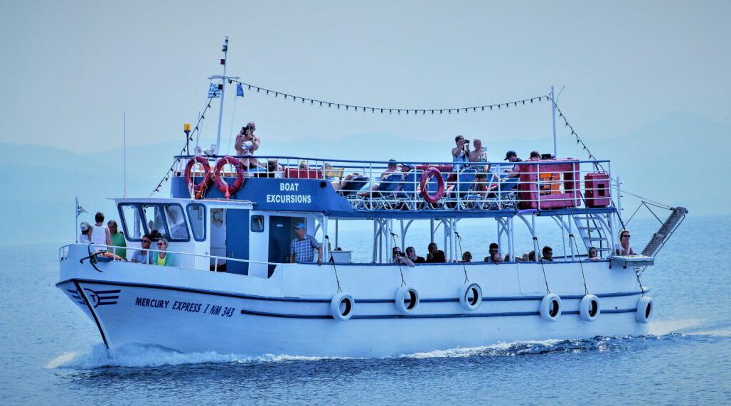 Mercury Boat trips lesvos molyvos